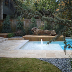 eclectic landscape by LandPatterns, Inc