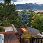 Mountain Paradise Pool Modern Landscape Salt Lake