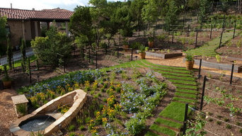Hill Country Villa Garden
