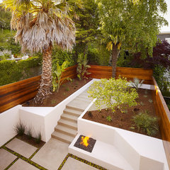 contemporary landscape by Design Line Construction, Inc.