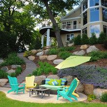 landscape seating ideas