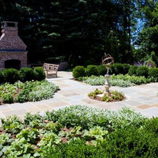 Traditional Landscape by Statile & Todd