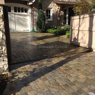 Historic Sidewalk Cobble, Bainbridge WA