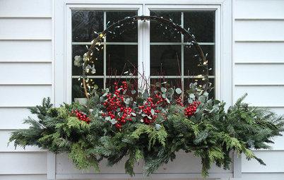 15+1 Ideen für Weihnachtsdeko im Außenbereich