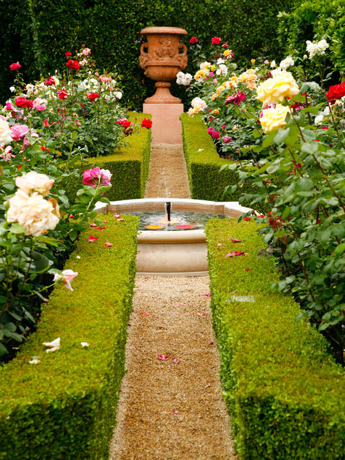 Formal Rose Garden | Houzz