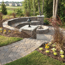 Traditional Landscape by David Weekley Homes