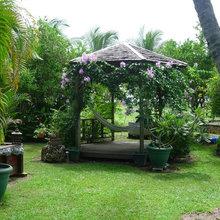 Уголок в саду: Беседка или патио, терраса или кресло?