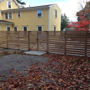 This is an example of a modern landscaping in Boston.