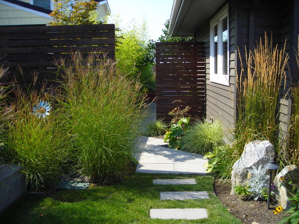 Contemporary Landscape by Greener Living Solutions, Inc