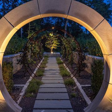 Huntleigh Outside Art Gallery Landscape Design