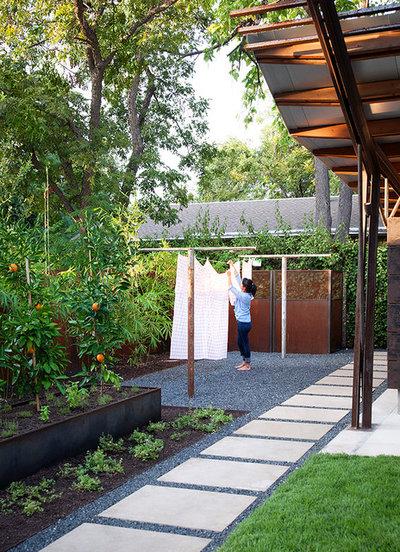 Contemporary Garden by B. Jane Gardens