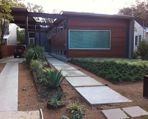 Open carport home design ideas pictures remodel and decor for Carport landscaping ideas
