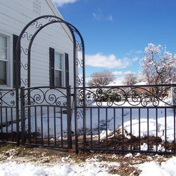 Impression Fence, Gate, and Trellis -