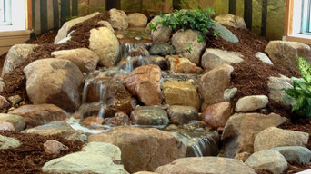 Indoor Pondless Waterfall