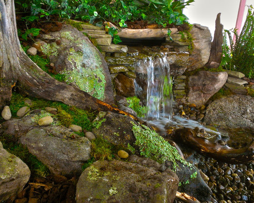 Indoor Waterfalls, Indoor Pondless Waterfalls
