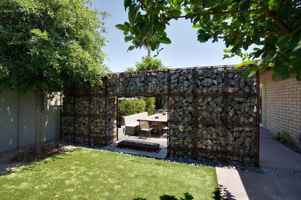 Muros de gaviones un atractivo y econ mico recurso para for Jardin industrial