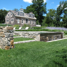 Traditional Landscape by R. P. Marzilli & Company Landscape Contractor