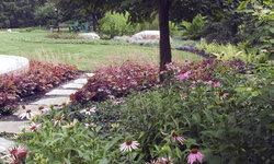 Informal Backyard Landscaping, Winnetka, Illinois