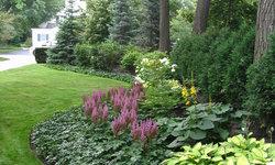 Informal Garden, Winnetka Illinois