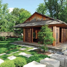Asian Landscape by Housetrends Magazine