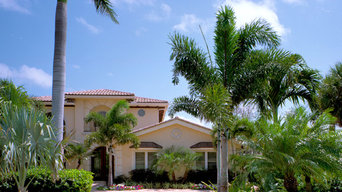 Intercoastal Luxury Home Landscape & Pool