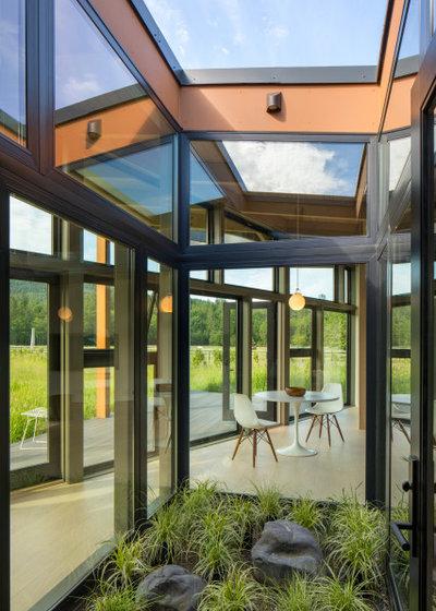 モダン 庭 by David Coleman / Architecture