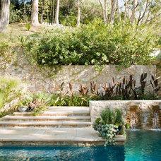 Mediterranean Landscape by MTLA- Mark Tessier Landscape Architecture