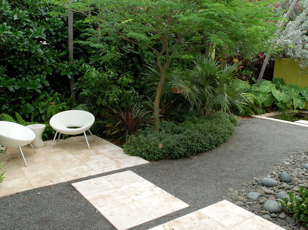Contemporary Landscape by Raymond Jungles, Inc.