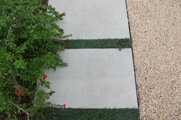 Beach Style Landscape by FormLA Landscaping