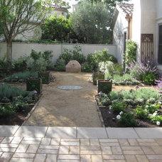 Mediterranean Landscape by Sage Outdoor Designs