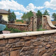 Mediterranean Landscape by Coronado Stone Products