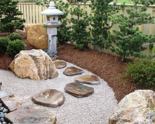 Asian courtyard garden home design photos decor ideas for Courtyard landscaping ottawa