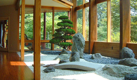 Zen Gardens for Urban Homes