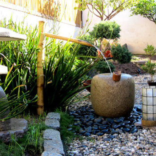 This is an example of an asian landscaping in Los Angeles.
