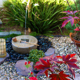 Design ideas for an asian landscaping in Los Angeles.