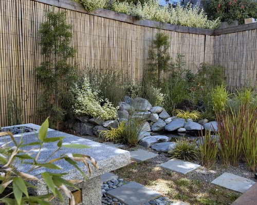 Bamboo Garden Fence Ideas Pictures Remodel and Decor