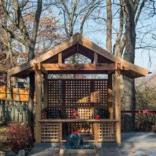 Asian Landscape by Elemental Design & Bloom Garden Center