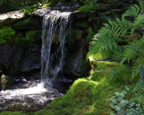 Japanese Garden Waterfall Houzz