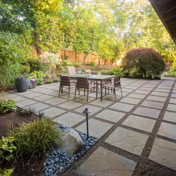 John and Sarah's backyard renovation