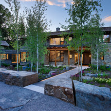 Rustic Landscape by Carney Logan Burke Architects