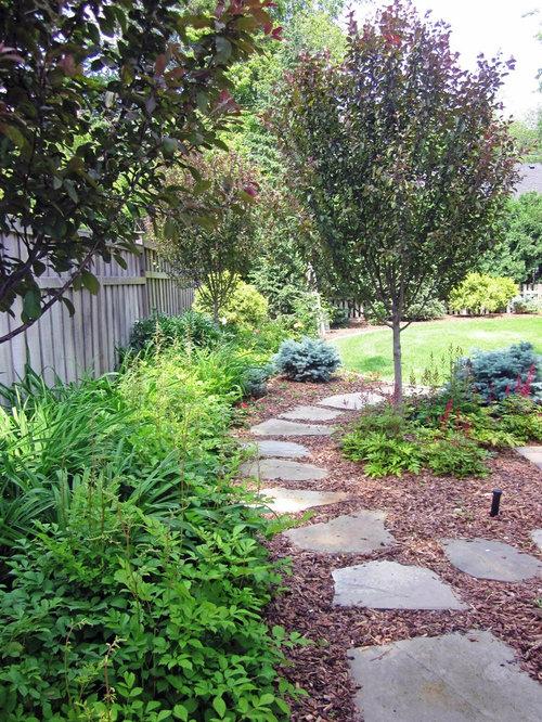 Landscaping Rock Walkways : River rock walkway home design ideas pictures remodel