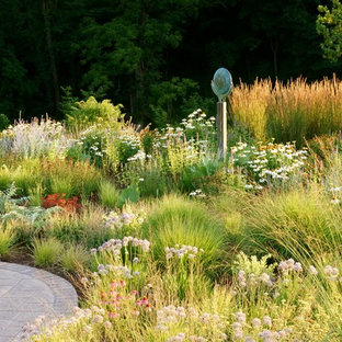 Inspiration for a contemporary full sun landscaping in St Louis.