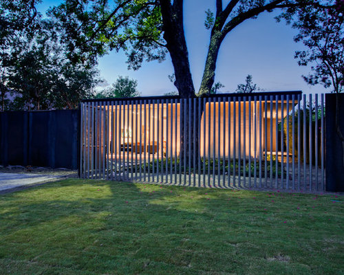 Vertical Slat Fence Houzz