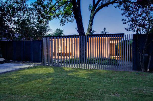 Moderno Jardín by NIMMO American Studio For Progressive Architecture