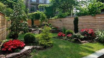 Joyce & Mo -Brownstone Backyard, Carrol Gardens,Brooklyn