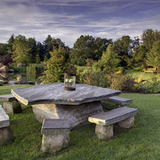 Eclectic Landscape by Julie Moir Messervy Design Studio (JMMDS)
