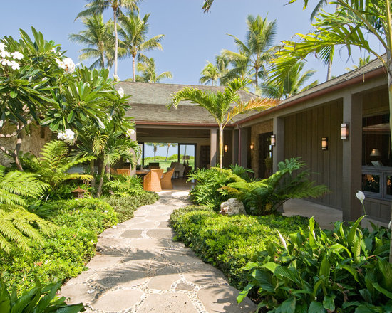 hawaii natural stone pavers hardscape landscape ideas, designs