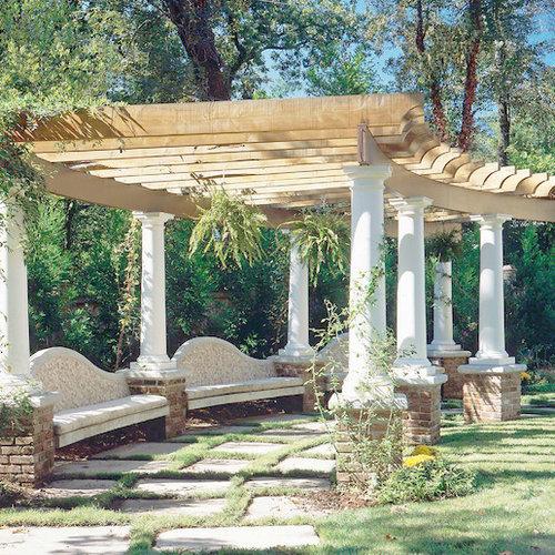 Tuscan Pergola | Houzz