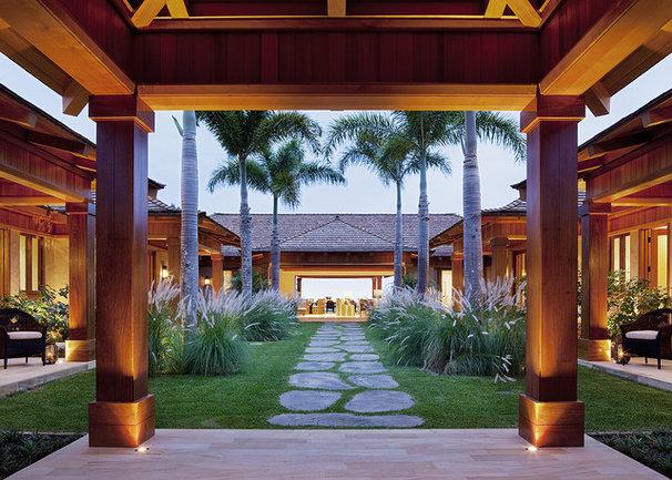 Tropical Landscape by GT Design, Inc.