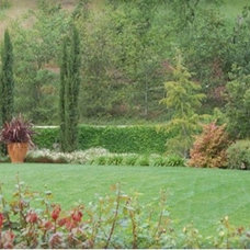 Traditional Landscape by Aitken and Associates